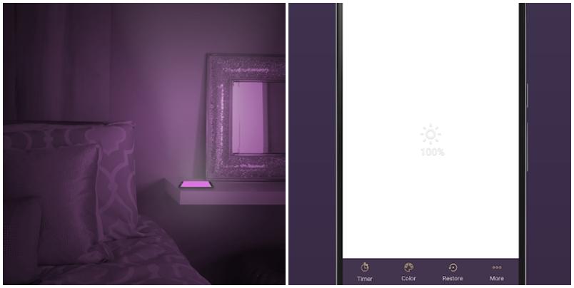 Screen Light Table Lamp小夜燈,可以當閱讀燈,還是嚇人必備工具!