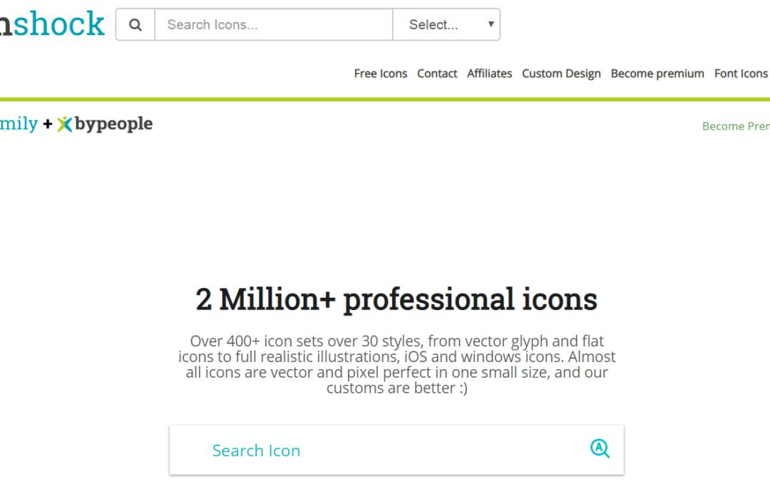 Iconshock 超過 200 萬個免費圖示下載!可自訂顏色或加入其他圖示