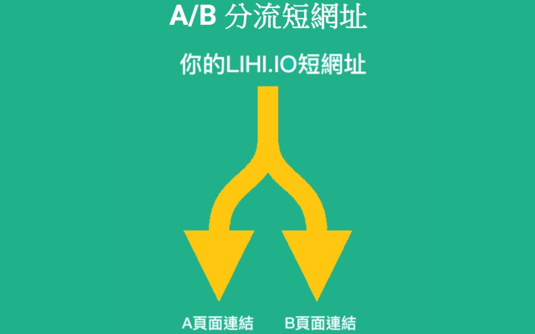 Lihi.io 免費短網址支援 A/B test,網路行銷可測試不同成效